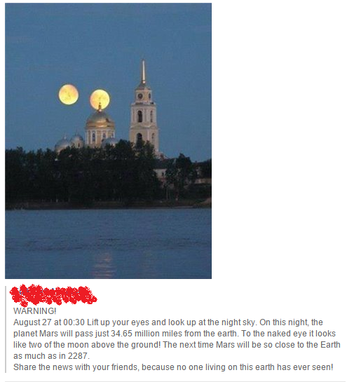 Facebook Post Hoax